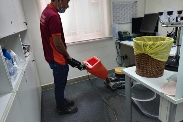 Dịch vụ giặt thảm văn phòng tại Bình Dương