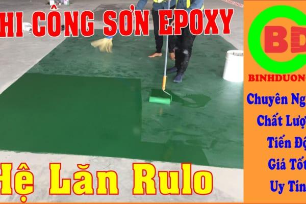 Thi công sơn sàn epoxy nhà xưởng tại Bình Dương