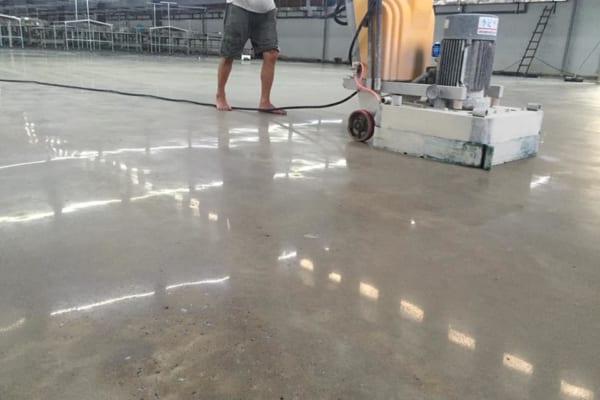 Đánh bóng bê tông là lựa chọn hiệu quả cho nhiều công trình