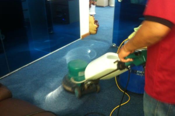 Thảm trải sàn được vệ sinh sạch sẽ đảm bảo sức khỏe của người sử dụng
