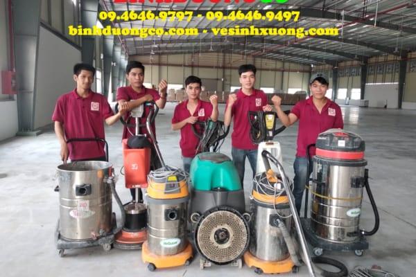 Công ty vệ sinh phải đảm bảo thiết bị máy móc chuyên dụng