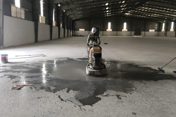 Mài bóng sàn mang lại tính thẩm mỹ và độ bền cho bề mặt sàn