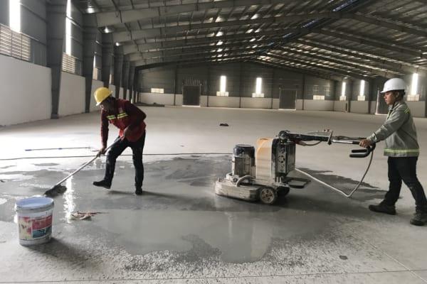 Xử lý các lỗi trên bề mặt sàn giúp công việc đánh bóng sàn thêm hiệu quả