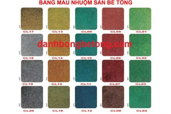 Sàn bê tông màu là lựa chọn tối ưu cho nhiều công trình hiện nay