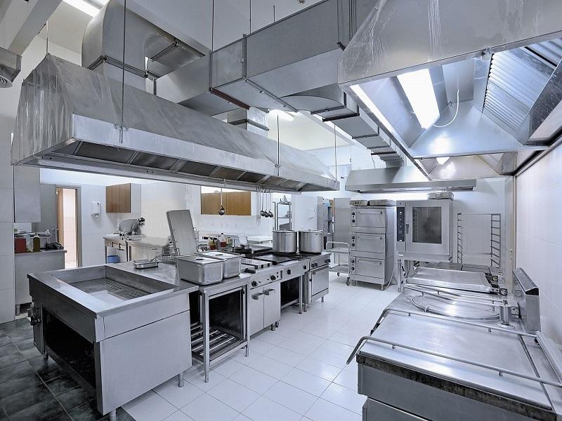 Vệ sinh hệ thống bếp ăn công nghiệp