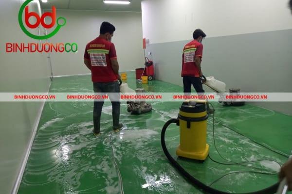 Binhduongco thương hiệu vệ sinh công nghiệp Bình Dương chuyên nghiệp