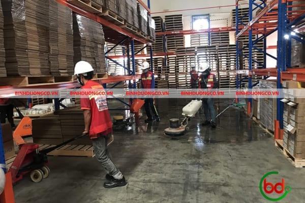 Vệ sinh nhà xưởng giữ vệ sinh cho quá trình sản xuất